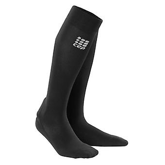CEP Achilles Long Support Compression Socks | Black