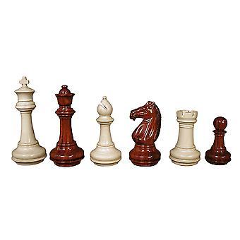 Meghdoot Bud rozenhout Chesspieces