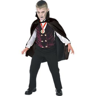 Orion Costumes Kids Gothic Vampire Dracula Halloween Fancy Dress Costume