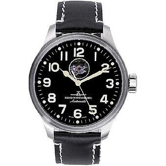 Zeno-watch mens watch OS pilota cuore aperto 8554U-a1