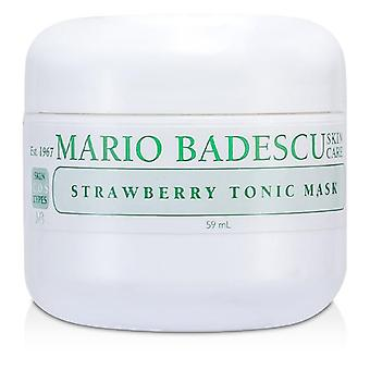 Mario Badescu Strawberry Tonic Mask - For Combination/ Oily/ Sensitive Skin Types - 59ml/2oz
