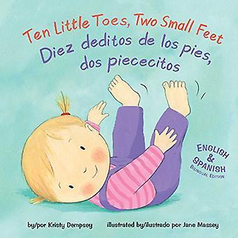 Ten Little Toes - Two Small Feet/Diez Deditos de Los Pies - DOS Piece