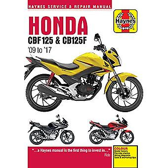 Honda CBF125 & CB125F Update (5540) ('09 To '16) by Honda CBF125
