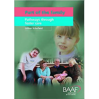 Part of the Family - Pathways Through Foster Care by Gillian Schofield