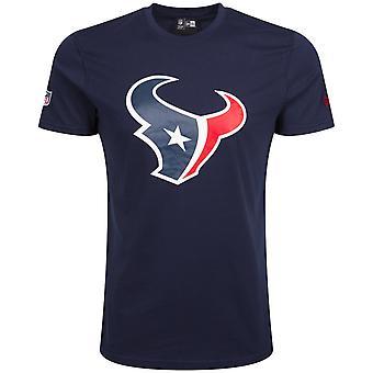 Ny era grundläggande skjorta - NFL Houston Texans Marinblå