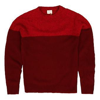 Hartford crew hals Pullover, rood
