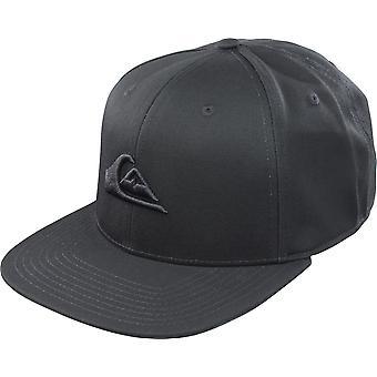 Quiksilver mens Chompers SnapBack Hat-zwart