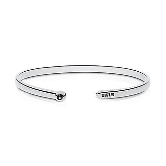 Kennesaw State University graviert Sterling Silber schwarz Onyx Manschette Armband