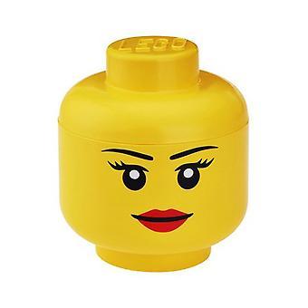 Lego opberg hoofd