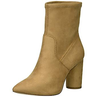 BCBGeneration Womens Ally Stretch Microsuede Suede Closed Toe Mid-Calf Fashio...