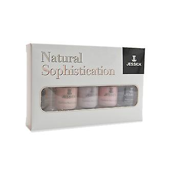 Jessica Natural Sophistication Nail Polish Collection (x5 7.4ml)