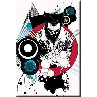Magnet - Marvel - Wolverine Shapes Licensed Gifts Toys m-mx-0004