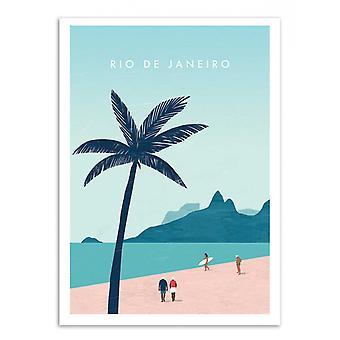 Art-Poster - Rio de Janeiro - Katinka Reinke 50 x 70 cm