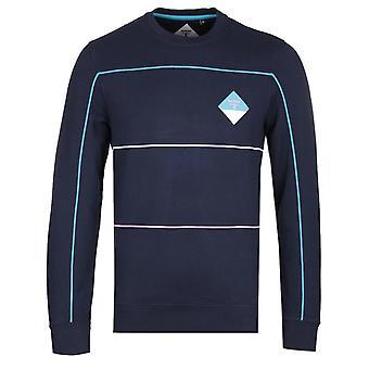 Barbour Beacon Contrast Trim Navy Sweatshirt