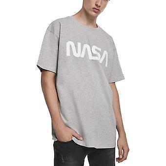 Mister Tee Heavy Oversized Shirt - NASA Grey