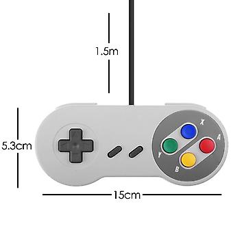 Rétro x2 SNES Compatible Replacement Controller Gamepad - par TRIXES