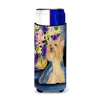 Aisladores de bebida Ultra Silky Terrier para latas de slim SS8293MUK