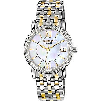 Dugena Wristwatch Women's Rondo Petit Stone Traditional Classic 7590155-1