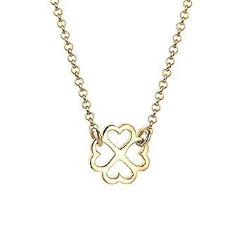 Elli silver Women ' s halsband 925 med en lycklig Quadrileaf hänge 0105322815_40