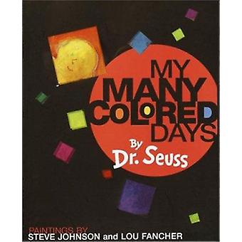 My Many Colored Days by Dr. Seuss - 9780679875970 Book