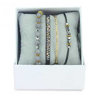 Coffret Les Interchangeables A59377   - Strass Box Bobo Chic Gris
