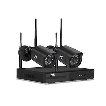 1080P 4CH NVR Wireless 2 Security Camera Set