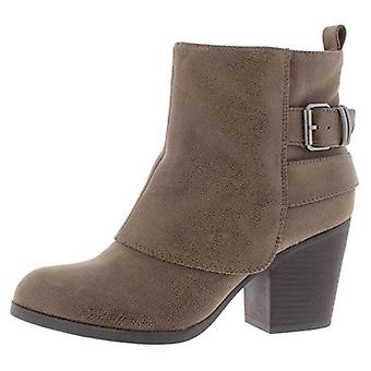 American Rag Womens Lilah Faux Suede Almond Toe Booties