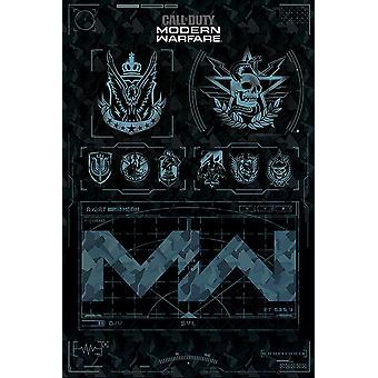 Call of Duty: moderne oorlogvoering fracties poster 91,5 x 61 cm