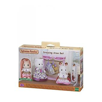 Sylvanian Families Dressing Area Set - Chocolate Rabbit  5236