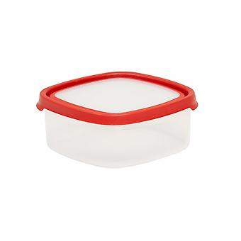 Wham Storage 7.02 Seal It 1.66 Litre Square Airtight Plastic Food Box