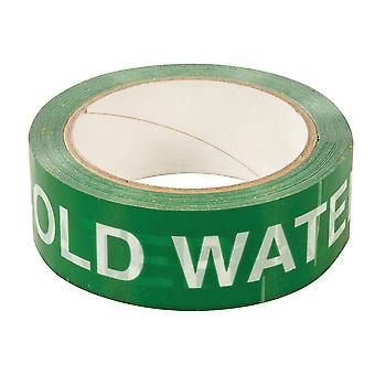 Koldt vand identifikations tape-38mmx33m