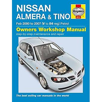 Nissan Almera  Tino Service And Repair Manual