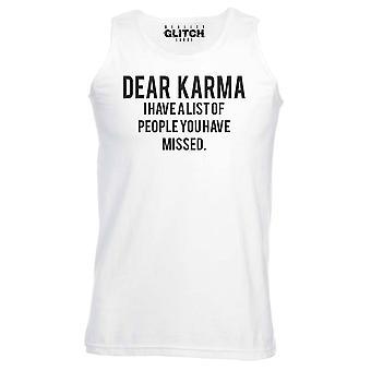Caro colete Mens karma