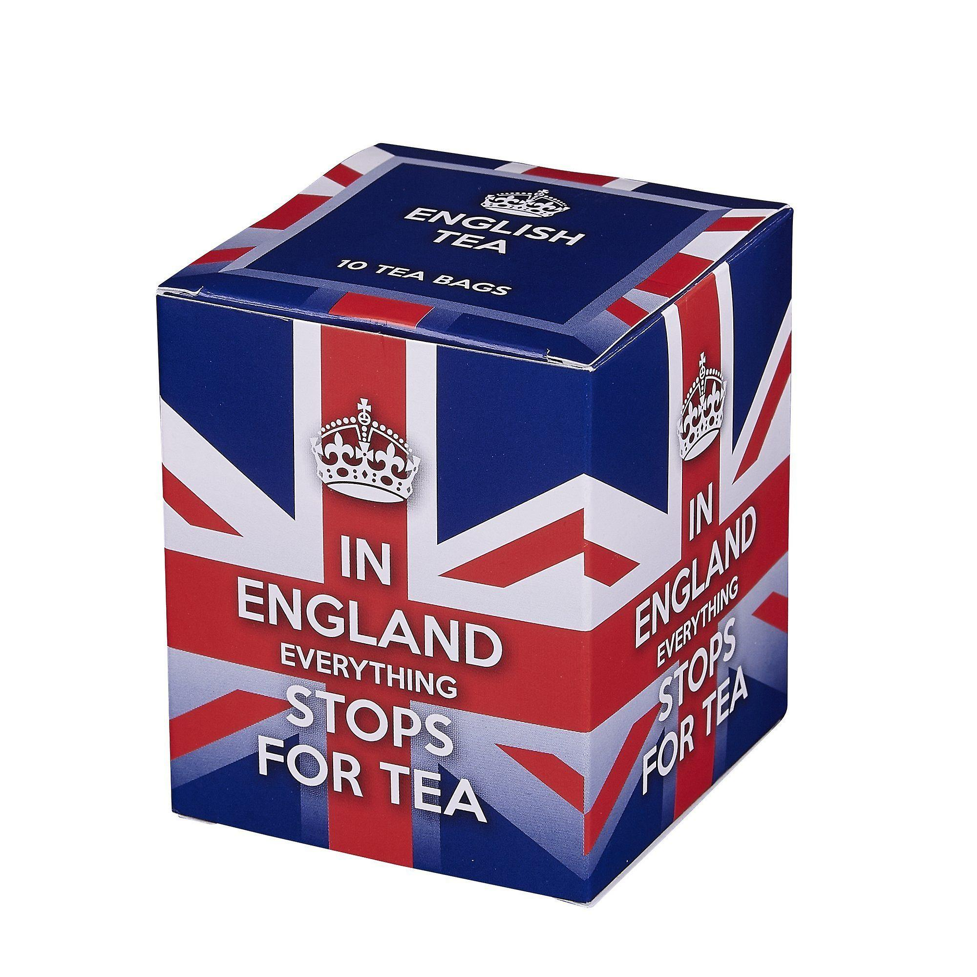 In england everything stops for tea 10 teabag carton