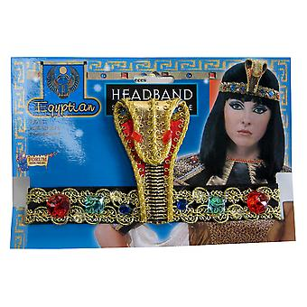 Egyptian Cleopatra Queen of Nile Goddess Women Costume Asp Headband