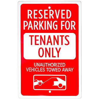 Parking Reserved for Tenants Only Sign