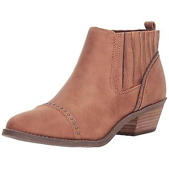 Report Womens declam Leather Almond Toe Ankle Fashion Boots