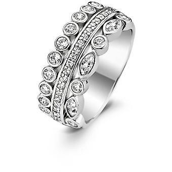 Ring Ti Sento 1984ZI - ring silver Zirconium woman
