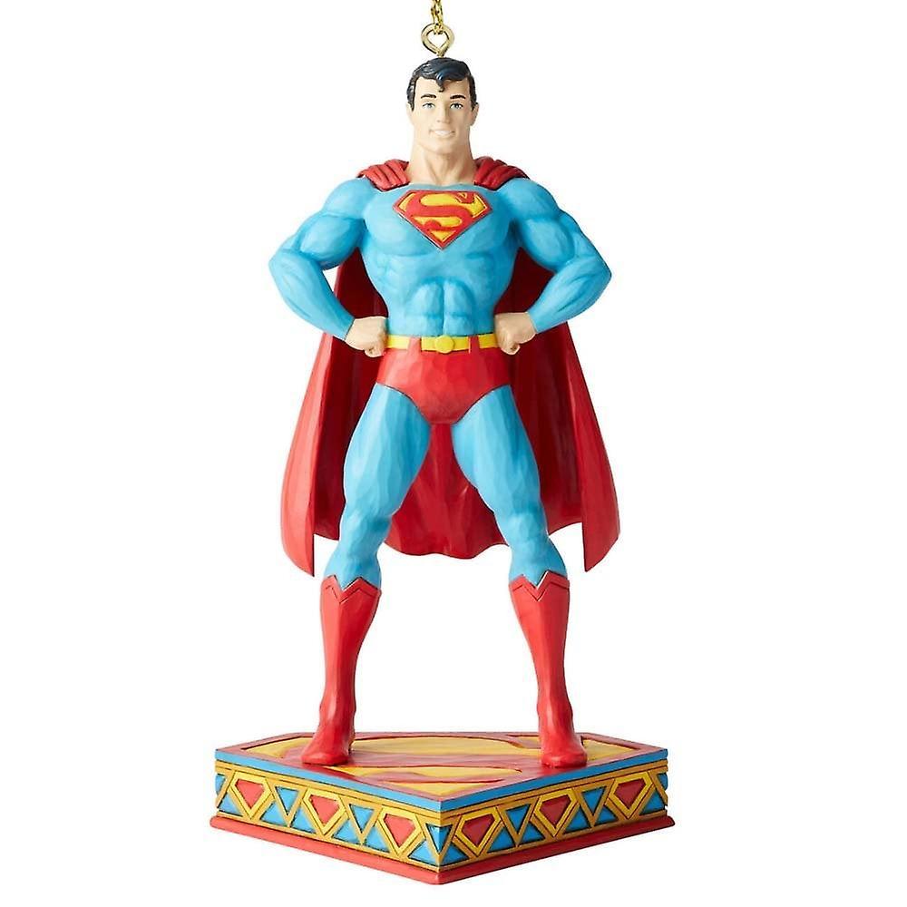 Jim Shore DC Comics Superman Silver Age Hanging Ornament