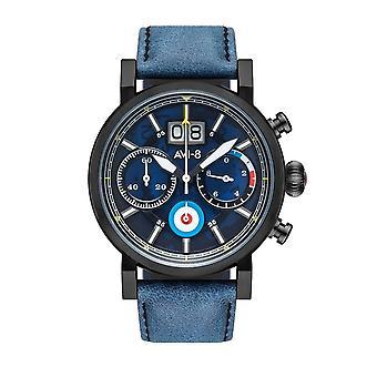 AVI-8 AV-4062-03 Hawker Hurricane Merlin Chrono Wristwatch