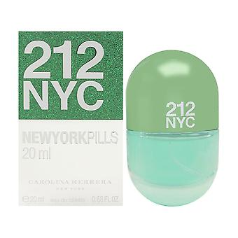 212 por Carolina Herrera para as mulheres 0,68 oz eau de toilette spray