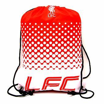 Liverpool FC officielle fodbold Crest Design Fade Gym taske