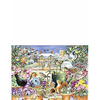 Ogrody wszystkich sezonów 4 x 1000 Piece Jigsaw