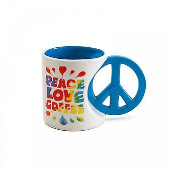 BigMouth شركة السلام الحب القهوة القدح
