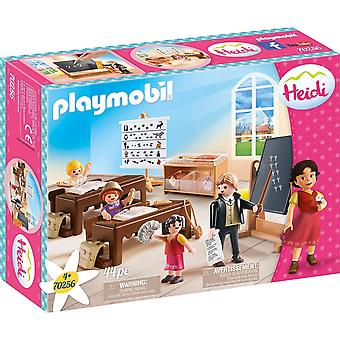 Playmobil 70256 School Lessons in Dorfli Heidi 44PC Playset