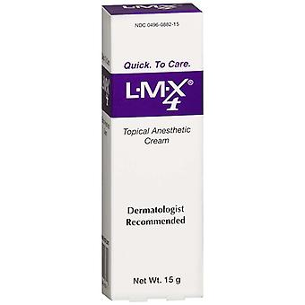 Lmx 4% topical anesthetic cream, 0.54 oz