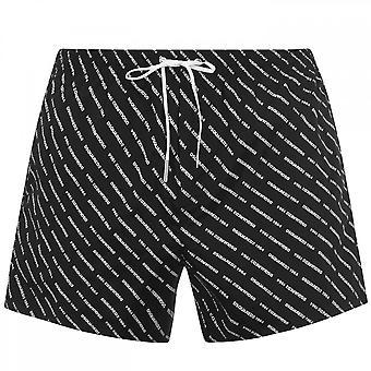 Dsquared2 All-Over Logo Svømme Shorts
