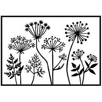 Nellie's Choice Embossing Folder dandelions HSF025 106x150mm