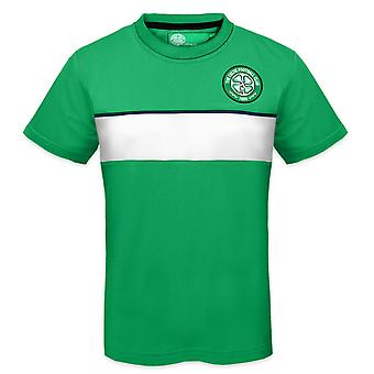 Celtic FC Official Football Gift Boys Poly Training Kit T-Shirt
