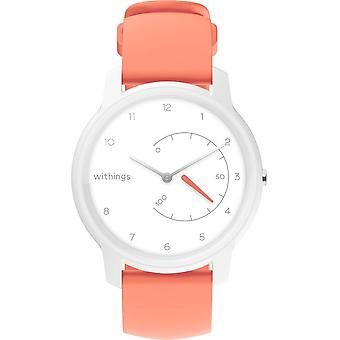 Withings - Activity Tracker - Move White & Coral - HWA06-model 5-all-Int